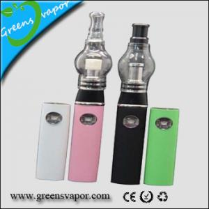 China wholesale best glass globe vaporizer for dry herb wax oil cig on sale