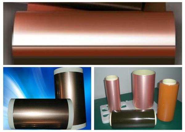 Adhesiveless Copper Clad Circuit Board , SLP Flexible Copper Clad