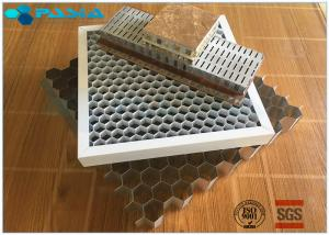 China Glue Bonded Aluminum Honeycomb Curtain Wall Core Board 0.07mm Thickness on sale