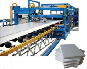 China 32 KW SP-9 75mm Rockwool Sandwich Panel Machine Color Steel Sheet Making Machine on sale