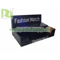 China Customized Box Watch Cardboard Display Black Corrugated Carton Box ENCA019 on sale