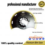 Titanium BIM saw for oscillating tool use for wood cutting wood with nail board with nails cutting at good price
