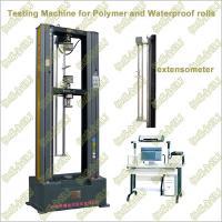 WDW-G2/G5/G10/G20 Polymer Waterproof Rolls/Membrane Tensile Testing Machine