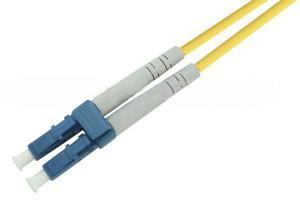 China LC Singlemode Fiber Optical Patch Cord Telecom class , Polishing A on sale
