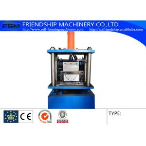 China Half Round Gutter Roll Forming Machine Automatic Length Measuring on sale