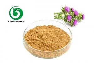 China Natural Seed Milk Thistle Herbal Supplement Extract Powder Silymarin Uv 70% on sale
