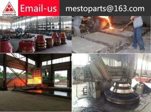 China stone crusher spare parts cina on sale