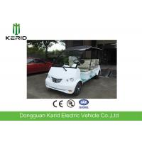 China Battery Powered Electric Shuttle Car 8 Seats For Real Estate / Tourist Attractions on sale