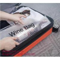 Reusable protector cover holder bag,protector plastic bubble bags for wine bottles wine bottle cover, BIODEGRADALE, ECO
