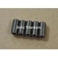 Industrial Ti Micro Set Screws  For Motorcycle Good Thermal Properties