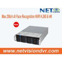 AI Face Recognition NVR, Max 256ch, support H.265 & 4K, X86 64bit Linux NVSS software,16 hot-swap HDD, Redundancy Power
