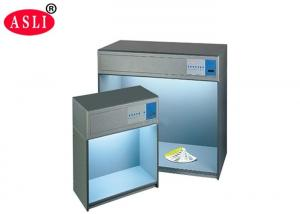 China 5 Light Source Standard Color Matching Laboratory Testing Equipment For Garment Industry on sale