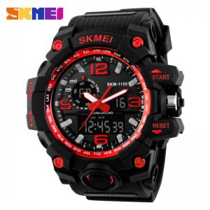 China Wholesale Skmei 1155 Watches Factory Price Fashion LED digital 50M Water Resistant Sport Mens Watch on sale