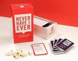 China Never Have I Ever Game Flash Cards For Adult , Custom Flash Card Printing Services on sale