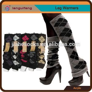 China Wool Patterned Leg Warmers supports from China Socks Supplier on sale