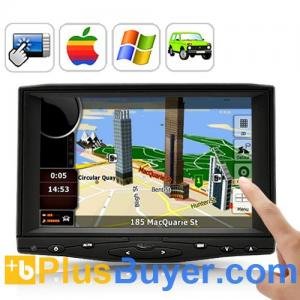 China 7 Inch HD Touchscreen Car Monitor - AV, VGA, HDMI Input on sale
