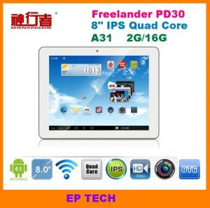 China 8inch A31 Quad core tablet pc Freelander PD30 Wifi HDMI 2G/16G IPS screen on sale