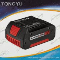 Lithium Polymer Rechargeable Battery , CE ROSH Power Tools Batteries