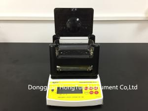 China NEW Design Digital Electronic Precious Metal Tester , Gold Density Tester , Gold Purity Tester with Printer  AU-1200K on sale