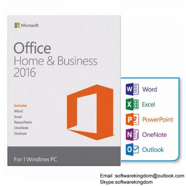 Microsoft Office 2016 HB Home and Business FPP online activation key ...