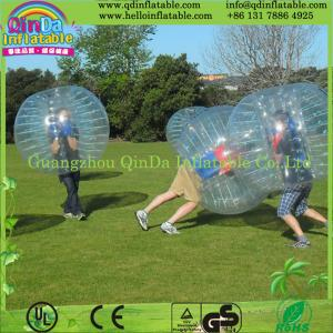 China Hot Bubble Football Inflatable Bumper Ball for Soccer Game on sale