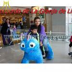 China Hansel animales montables riding dinosaur toys dinosaur animal rides for shopping mall wholesale