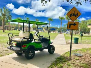 Quality Coche con errores del golf E del golf de 2 Seater for sale