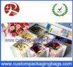 3 Side Seal Aluminium Coated Plastic Food Packaging Bag Heat sealed