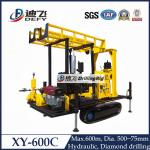 600m depth portable water drilling rig water well drilling machine XY-600C
