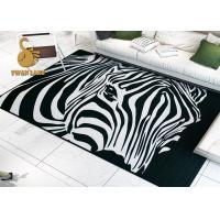 China Professional Custom Slip Resistant Entrance Printed Door Mat Area Rugs on sale