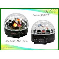 China Bluetooth Rotating Disco Ball With Led Lights Rgbw Tv Colorful on sale