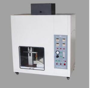 China High Professional Flammability Testing Equipment For Rigid Cellular Plastics Testing on sale