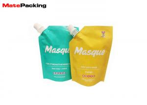 China Liquid Juice Packaging Foil Food Pouches Standing Up With Spout Customized Printing on sale