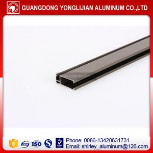 China Champagne anodized aluminum extrusion profile window door design on sale