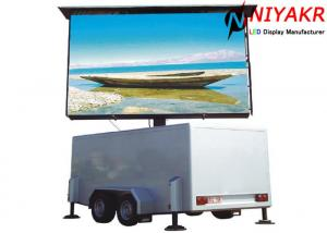 China Anti Oxidation P10 Truck Mobile Led Display Full Color 10000 Dots/m2 1280x960 mm on sale