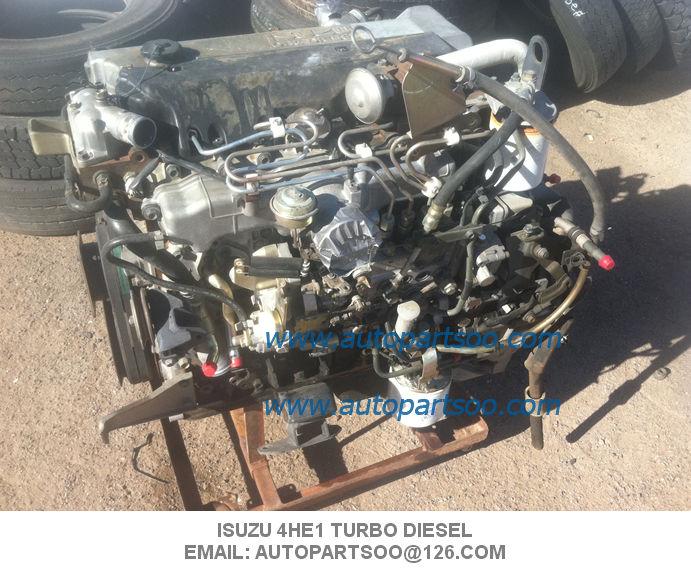 Used ISUZU 4HE1T Engine assy, Usada ISUZU 4HE1T Motor 4HE1