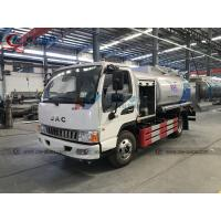 China JAC Left Hand Drive 5cbm Mobile Aviation Refueling Trucks on sale