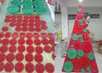 Simple Style Shop Display Christmas Decorations Xmas Tree Made From Resin Buttons