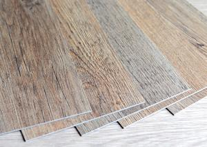 China CE PVC Vinyl Tiles , Rigid Core Luxury Vinyl Flooring 3mm Rigid Dry Back on sale