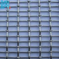 Aluminum Crimped Metal Wire Mesh For Architectural Decoration