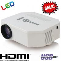 LED HDMI USB Portable Projector With SD VGA For Home Cinema Display 3D Proyector