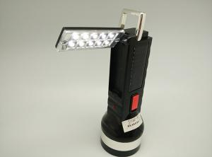 China BN-8811S Solar Power Rechargeable LED Flashlgith Torch on sale