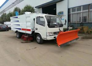 China Dongfeng Vacuum Road Sweeper Truck 8000 Liters 4x2 6x4 8x4 With Snow Shovel on sale