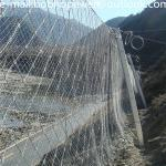 High Quality Defend Slope Fence Mesh Rope High Tensile SNS Protection Netting Flexible Stainless Steel Wire Mesh
