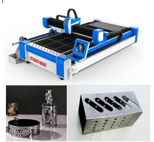 China Metal Tubes 3D Laser Cutting Machine / Auto Pipe Cutting Machine X Y Z Axle on sale