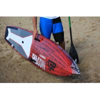 Double Wall Drop Stitch SUP Race Boards Sculpted Balance Flow Curves Design