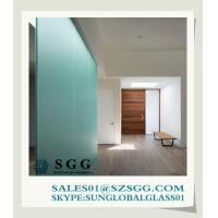 China Frosted Glass Interior Doors (clear, bronze,grey,green,blue) on sale