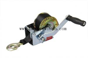 China 800lbs Manual Hand Winch Zinc Mechanical Trailer Heavy Duty Light Weight on sale