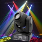 Plastic Professional DMX512 Moving Head Light 30 - Watt  For Concert Lighting