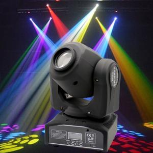 China Plastic Professional DMX512 Moving Head Light 30 - Watt  For Concert Lighting on sale